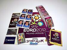 PANINI EM 12 Euro 2012 - Komplettset (Intern.) + 6 Updates + Leeralbum + Tüten