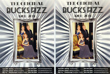 2 X ORIGINAL BUCKS FIZZ 2011 TOUR FLYERS - CHERYL BAKER MIKE NOLAN JAY ASTON