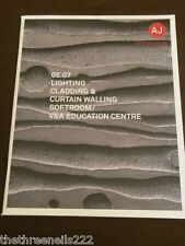 AJ SPECIFICATION - V&A EDUCATION CENTRE - MAY 2007