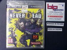 NEVERDEAD PS3 PLAYSTATION 3 PAL NUOVO SIGILLATO
