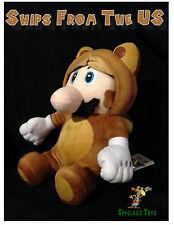 "Nintendo Super Mario 9.5"" Plush San-ei - Tanooki Mario"