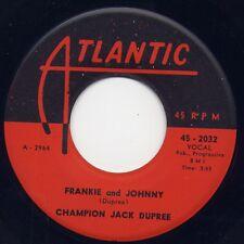"""JACK DUPREE - """"FRANKIE & JOHNNY"""" b/w """"STROLLIN'"""" on KING (VG+)"""
