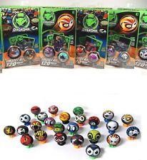 DaGeDar Balls Pack 2-Balls 2-Stands 2-Trading Cards Randomly Selected Steel Core