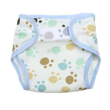 Baby Newborn Kids Breathable Soft Cotton Diaper Pants Reusable Nappy Footprint