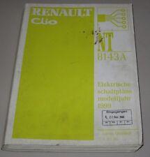 Werkstatthandbuch Elektrik Renault Clio II Typ B elektrische Schaltpläne ab 1999