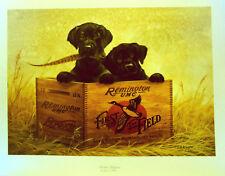 Lynn R. Kaatz Lithograph Finders Keepers Hadley House  Labrador Retrievers