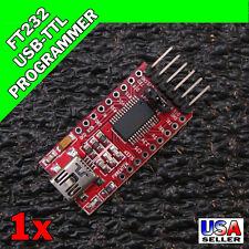 FT232RL USB 2.0 - TTL UART FTDI Serial Converter Arduino FT232 RX/TX 3.3/5V U70