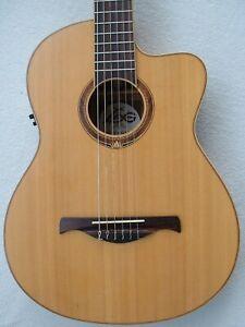 LAG 4 Seasons Spring 4S100 NCE Classic Nylon Guitar Guitare Folk Electro France