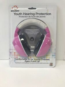 Jr. Walker's Youth Hearing Protection Ages 4 and Up  Pink   #GWP-YM-PK