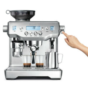 NEW Breville The Oracle Coffee Espresso Machine Stainless Steel BES980BSS