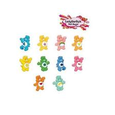 Waterslide Nail Decals Art Set of 20 - Care Bears Assorted