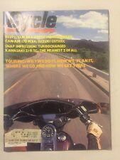 Vintage 1970s Cycle Motorcycle Magazine - August 1978 - Touring, Yamaha