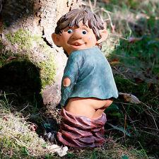 Gärtner Pötschke Gartenfigur Gnom Erni mit heruntergelassener Hose