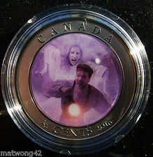 Canada 2016 Haunted Canada Bell Island Encapsulated 25c Lenticular Coin /& COA!!