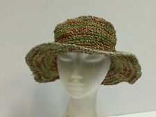 New Natural Hemp & Cotton Festival Boho Unisex Hippie Hat