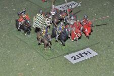 25mm Medievale/inglese-Men at arms 8 Fichi CAVALLERIA-CAV (21841)