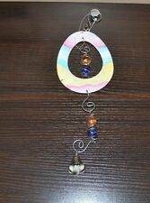 Easter Egg Wind Chime - Metal Chime - Indoor or Outdoor Easter Decoration Decor