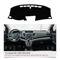 DashMat Dashboard Cover For Honda CR-V CRV 2012 2013 2014 2015 2016 Dash Cover