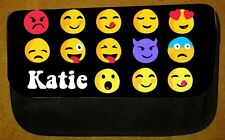 Boys/Girls Personalised Emoji Pencil Case -Include Name - Fab For School