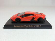 1:64 OEM Lamborghini Aventador LP720-4 50th Anniversario Orange Dealer Event Ed.