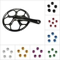 2PCS Aluminum Alloy Mountain Bike Bicycle Chainring Bolts Single Chain Ring Bolt