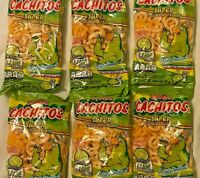 botanas cachitos, 0.9 oz, 6 packs