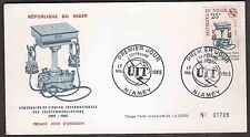 1965 Niger First Day Cover - International Telecommunications Union, Telephone