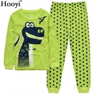 Dinosaur Boy Pajamas Suit Pijamas For Baby T Shirt Pant Long Sleeve Clothes