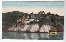 [52350] OLD POSTCARD LIGHT HOUSE, YERBA BUENA ISLAND IN THE SAN FRANCISCO BAY