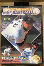 Roger Clemen's MVP Baseball (Sega Mega Drive, 1992)