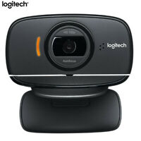 Logitech B525 WebCam Autofocus HD 360° Swive Cam Video Meeting Skype Microphone