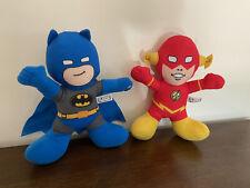 DC Super Friends Blue Batman And The Flash Plush Stuffed Animal 9in Plush Doll