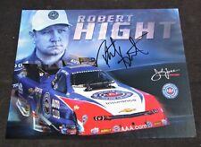2015 Robert Hight Auto Club Funny Car NHRA Autographed HANDOUT/POSTCARD