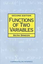 NEW Functions of Two Variables, 2nd Edition by Sean Dineen