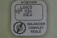 Balance complete LANCO 924 INCA bilanciere completo 721 NOS