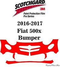 3M Scotchgard Paint Protection Film Pro Series Clear Bra 2016 2017 Fiat 500x