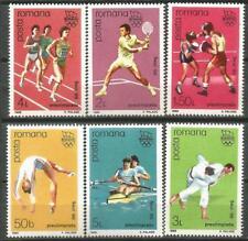 RUMANIA Scott# 3512/3517 MNH set. Sin Fijasellos Olimpiada Seul 1988