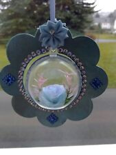 Fensterdeko- Blumenanhänger mit Acrylkugel