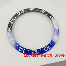 38mm black and blue ceramics bezel fit for 40mm Sub Gmt men's watch-Q03
