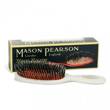 Mason Pearson BN4 Pocket Size Bristle &  Nylon Hairbrush – Ivory