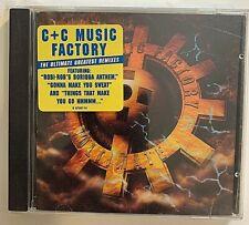 C+C Music Factory - Ultimate CD 1995 Columbia 481117 2 VG