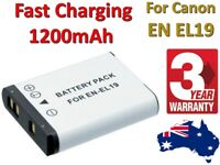 EN-EL19 ENEL19 Battery Or LCD Charger For Nikon CoolPix S100 S3100 S3500 S2500 .