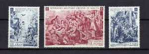 13001) Smom 1968 Cat. Unified #33/35 MNH Christmas - Natale