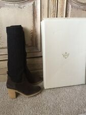 New Anthropologie Miss Albright Knit Boots Sz 38 NWT by Miss Albright 8