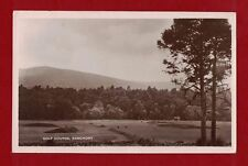 1948 GB Banchory Golf Course heritage postcard