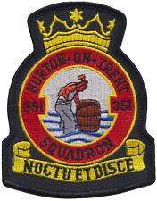 351 (Burton-on-Trent) Squadron Air Training Corps ATC RAF Crest Embroidered Patc