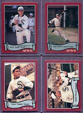 CHARLIE SHEEN ~ Lot of (4) Different 1988 Pacific Eight Men Out Baseball Cards
