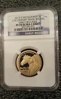 2012 S Sacagawea 17th Century Trade Routes NGC PF70 Early Releases Ultra Cameo