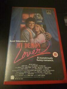 MY DEMON LOVER - RCA/COLUMBIA - BIG BOX - EX RENTAL - VHS -