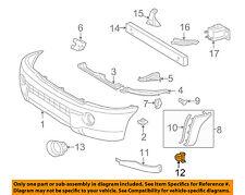 TOYOTA OEM 05-15 Tacoma Front Bumper-Bumper Filler Retainer 5393504020